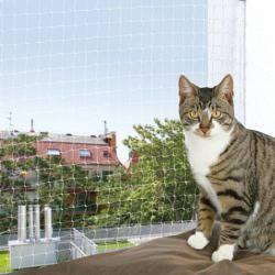 Trixie Siatka ochronna transparentna na okno 2x1,5m