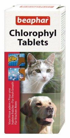 Tabletki usuwające nieprzyjemne zapachy - z chlorofilem - 30 szt