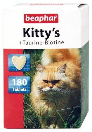Beaphar Kitty's Taurine-Biotine przysmak dla kotów 180 sztuk