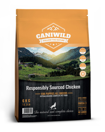Caniwild Puppy Free run Chicken & Turkey