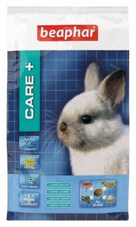 Karma Super Premium dla młodych królików Care+ Rabbit Junior 250g