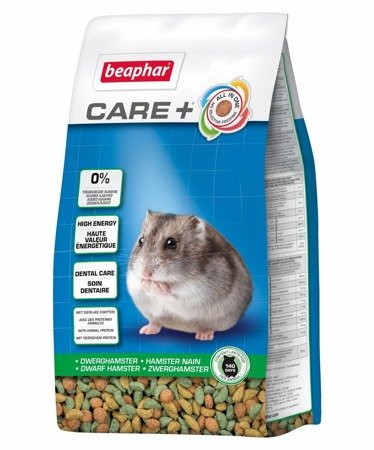 Karma klasy Super Premium dla chomików karłowatych Care+ Dwarf Hamster 700g