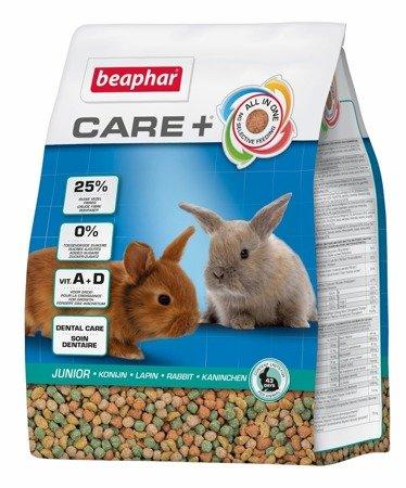 Karma klasy Super Premium dla młodych królików Care+ Rabbit Junior 1,5kg