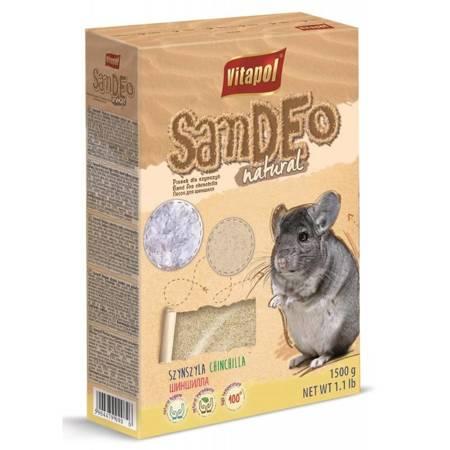 Klasyczny piasek kąpielowy dla szynszyli - 1,5 kg