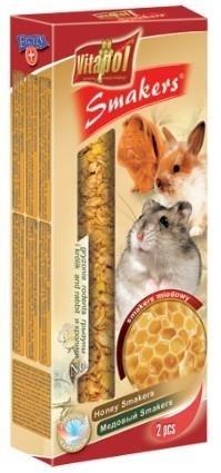 Kolby z miodem dla gryzoni oraz królików - 2 sztuki