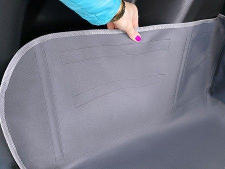 Mata ochronna do bagażnika samochodu Kardibag Protect  L czarna