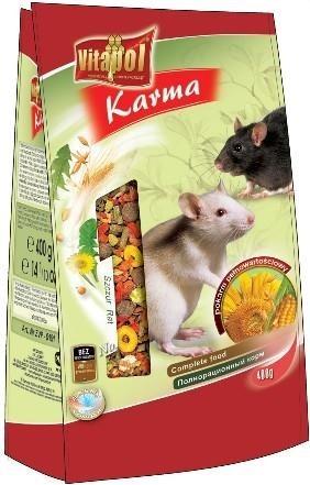 Mieszanka naturalna do żywienia szczurów - 500 g