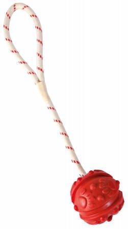 Nieregularna piłka na lince z rączką - 7 cm
