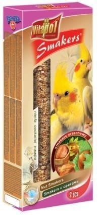 Orzechowe kolby dla papugi nimfy - 2 sztuki