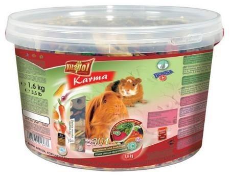 Pokarm 2w1 dla świnek morskich - 1,6 kg