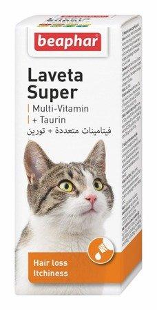 Preparat przeciw nadmiernemu wypadaniu sierści u kotów Laveta Super 50ml