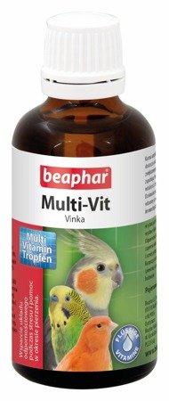 Preparat witaminowy w kroplach dla papug i ptaków Multi-Vit Vinka 50ml
