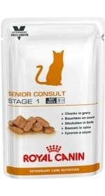Royal Canin Veterinary Diet Cat Senior Consult Stage 1 saszetka 100g