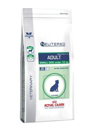 Royal Canin Veterinary Diet Dog Neutered Adult Small Dog Weight & Dental 30 8kg