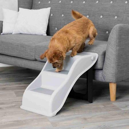 Schody dla psa z antypoślizgowym bieżnikiem, schodki dla psa - 34×39×54cm - do 40 kg