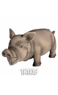 Świnia z lateksu, chrumkająca - 17 cm