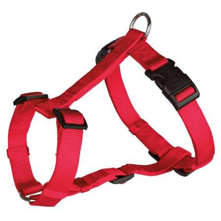 Szelki regulowane dla psa 15mm Classic czerwone