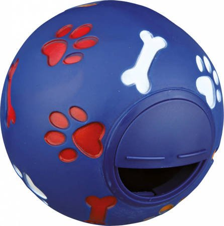 Karmnik dla psa w kształcie kuli - 14 cm