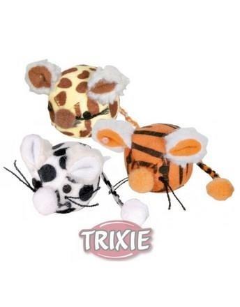 Trixie Mysz kulka pluszowa 4,5cm