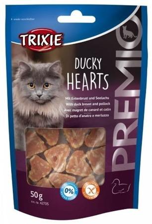 Trixie Premio Ducky Hearts kacze serca 50g