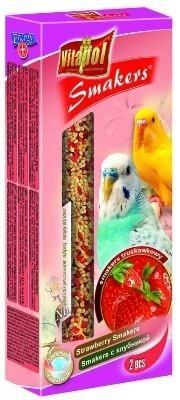Truskawkowe kolby dla papużek falistych - 2 sztuki