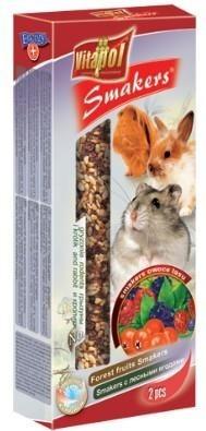 Kolby o smaku owoców lasu dla gryzoni oraz królików - 2 sztuki